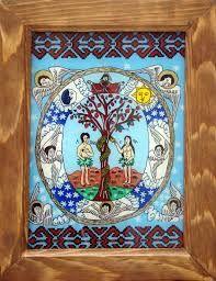 Imagini pentru imagini icoane Ioana Stoilă Cina cea de Taină Religious Paintings, Popular Art, Adam And Eve, Christianity, Folk, Glass, Adam An Eve, Drinkware, Corning Glass