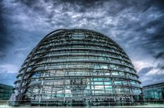 Robert Emmerich - 29 HDR At the roof of the Lower House of German Parliament in Berlin - Germany by Robert Emmerich on 500px  #Berlin #Parliament #Bundestag #cloud #colors #Germany #Canon #EOS #dslr #40D  #photography #cityscapephotography #Photoshop #Photomatix #LowerHouse #photomaniagermany #berlinerfotografen #EuropeanPhotography #HDR #hdrphotography #hdrphotographers #hdrtheworld #architecturephotography #architecture #StuckInBerlin #RobertEmmerich