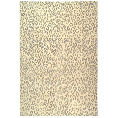 Suzanne Kasler Jaguar Cream Sky Blue Wool & Silk Rug