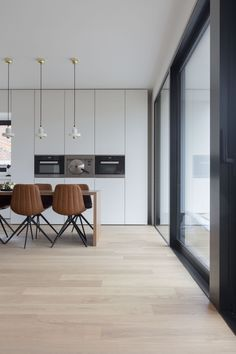 Home Room Design, Home Design Plans, House Design, Modern Kitchen Design, Interior Design Kitchen, New Kitchen, Kitchen Dining, Decoration Inspiration, Cuisines Design