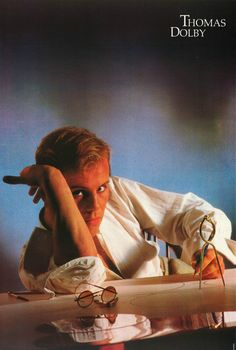 Thomas Dolby Promotional Poster https://www.facebook.com/FromTheWaybackMachine