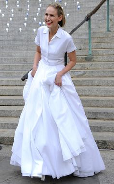 Leelee Sobieski in Jil Sander...love this,I want!