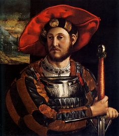 Ercole II d'Este (1508-1559 Son of Alfonso I d'Este and Lucrezia Borgia. Husband to Renee of France