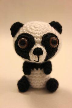"""""""O-SO-CUTE Panda Bear Crochet Amigurumi"""" #Amigurumi  #crochet"""