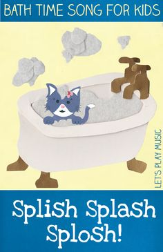Bath Time Song - Let's Play Music Lets Play Music, Music For Kids, Music Activities, Infant Activities, English Activities, Toddler Play, Toddler Preschool, Songs For Toddlers, School Songs