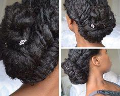 50 Cute Updos for Natural Hair | Hair | Pinterest | Updo, Black ...