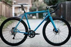 Alchemy Konis handmade steel cyclocross / gravel bike. © Cyclocross Magazine