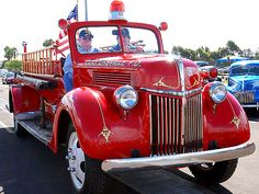 old Ford fire truck.