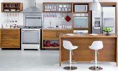 Tok&Stok Cozinha Transforme a cozinha em um verdadeiro espaço gastronômico - Design: Guilherme Bender