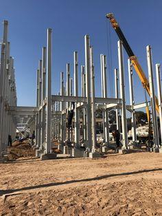 Çelik Konstrüksiyon #çelik #metal #yapı #hangar #bina #unfabrikası