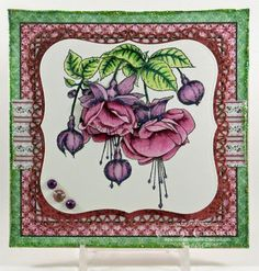 Bold Fuchsia Card by Candy S. - Cards and Paper Crafts at Splitcoaststampers