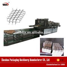 Automatic Slotter Corrugated Paper Partation Assembler