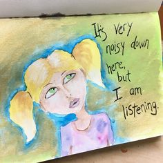 Some art journal musings. Inspired by the one and only @janedavenport