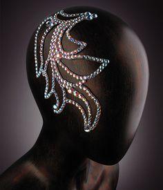 Verona Rhinestone Hairpiece JLH07 - Rhinestone Jewelry
