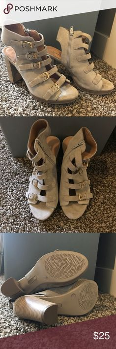 68d68312305  kenneth cole  chunky buckle heels worn only once! Adorable chunky buckle  heels by