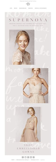 January Waters  |  BHLDN email