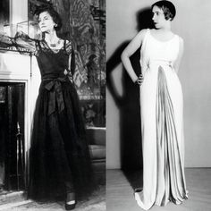 """Chanel vs. Schiaparelli """"Of course they were rivals, privately damning each other with faint praise."""