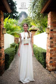 melissamcclure.com  Traditional Thai wedding ceremony, bride in thai dress  destination wedding, AoNang, Krabi, Railay Bay, Thailand