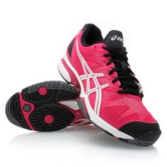 1d87acfa0a2 Asics Gel Solution Speed - LAST SIZE 9.5US - Womens Tennis Shoes -  Pink White Black