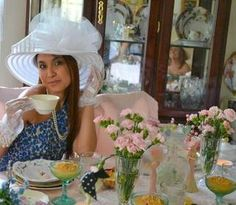 Tea time at The GGS Hat and Gloves Tea Room!