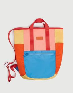 Discover the latest fashion trends for women at PULL&BEAR. Fall in love with brand new clothes, shoes and accessories for Spring Summer Homemade Bags, Orange Backpacks, Box Bed, Pull N Bear, Designer Backpacks, Corporate Gifts, Bag Accessories, Diaper Bag, Gym Bag