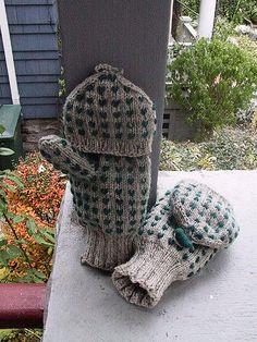Ravelry: wendye's Thrummed mittens