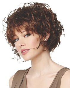 best+wavy+chin+length+bobs | Eva Gabor Next Collection Flutter - Chin Length Bob Curly Straight ...