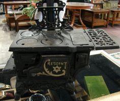 Antique Crescent Cast Iron Stove