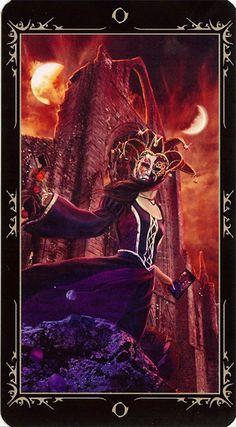 The Fool - Dark Fairytale Tarot Tarot The Fool, Witch Pictures, Le Tarot, Divination Cards, Dark Fairytale, Online Tarot, Tarot Major Arcana, Oracle Cards, Gothic Art