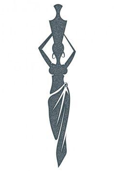 Cow Illustration, Estilo Tribal, Stock Foto, Vase, Woman, Logo, Abstract, Painting, Vector Illustrations