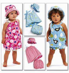Baby Girls' Reversible Sundress Pattern Toddler Girls' by blue510