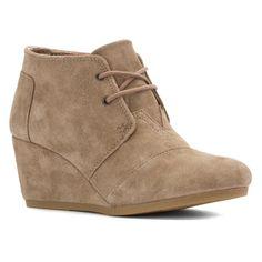 TOMS Womens Desert Wedges Boot
