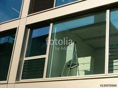 Flipchart im Besprechungsraum eines modernen Bürogebäudes am Mittelhafen von Münster in Westfalen im Münsterland