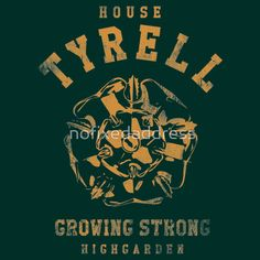 Game of Thrones House Tyrell by nofixedaddress