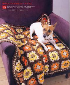 Melhor do Crochê: Linda manta para sofá