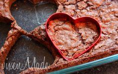 valentine brownies | Valentine Brownies...easy peasy! and just what my man loves! BROWNIES!!! NOM!