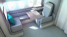 British Airways, British Airline, Air France, First Class Plane, Executive Jet, Airplane Interior, Private Jet Interior, Campervan Bed, Car Interior Design