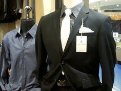 Great business suit!  Sale price $149.95 includes suit, shirt, tie, belt and socks.