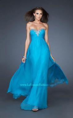 { 18909 | La Femme Fashion 2013 }  La Femme Prom Dresses - Jeweled Sweetheart Dress - Elegant