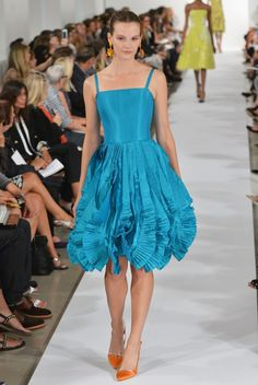 NY Fashion Week: Oscar De La Renta Spring 2014|