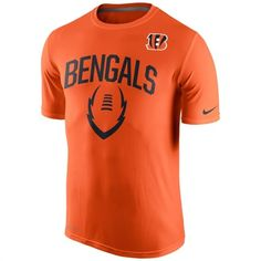 Nike Cincinnati Bengals Orange Legend Icon Performance T-Shirt #bengals #cincinnati #nfl