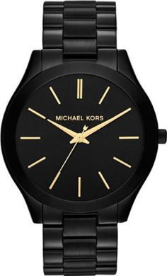 Michael-Kors-Slim-Runway-Black-Stainless-Steel-Ladies-Watch-MK3221