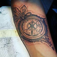 Tattoo kompass