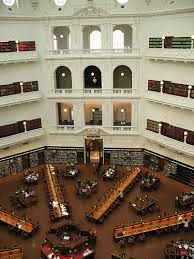 state library of victoria domed reading room