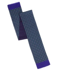 Circle and square geo scarf - Purple | Scarves | Ted Baker UK