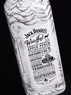 Jack Daniels - Winter Jack  I can't wait to try this! Pretty bottle too!