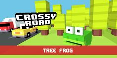 Save If you play crossy road and you have this character