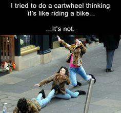 like riding a bike funny