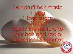 #dandruff #hairmask #hair #egg #beauty #diy