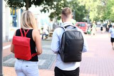 Backpacks with Style. Great for short Trips like Citytrips.
